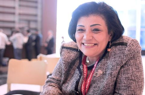 interview with Manal Mather El Gamiel, member of the Egyptian Parliament